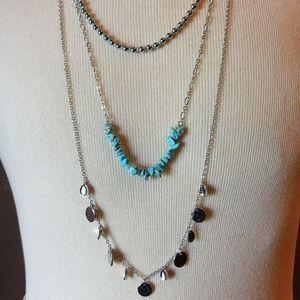 NWT Lia Sophia Layered Necklace